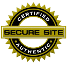 Secure Site SSL Certified